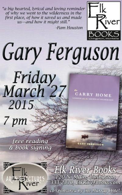 Gary Ferguson Poster, 27 March 2015, Ferguson, Gary
