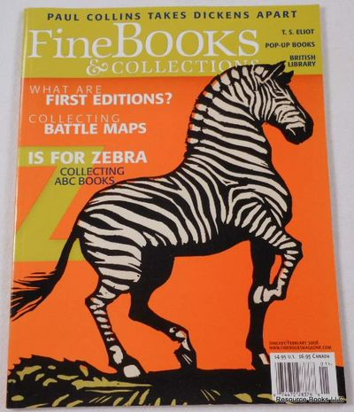 Fine Books & Collections.  January/February 2006.  No. 19 (Vol. 4, No. 1), Fine Books & Collections Magazine
