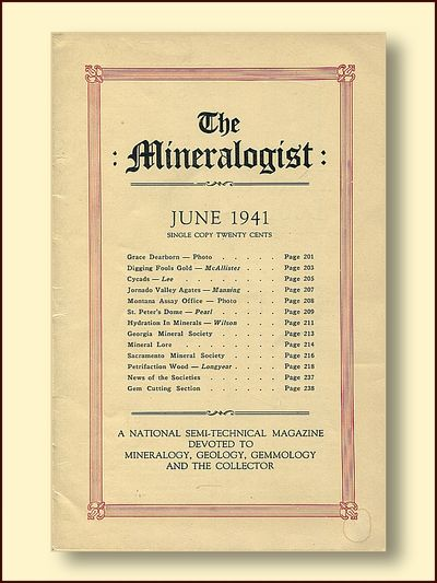 The Mineralogist: June 1941  Vol IX No. 6