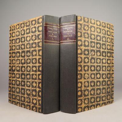 Image for Voyage a Peking, a travers la Mongolie, en 1820 et 1821. Traduit du Russe,  par N***, revu par J.-B. Eyries; Publie, avec des corrections et de notes,  par J(ulius) Klaproth. Two Volume Set.