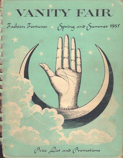 Image for Vanity Fair Price List Spring-Summer 1965