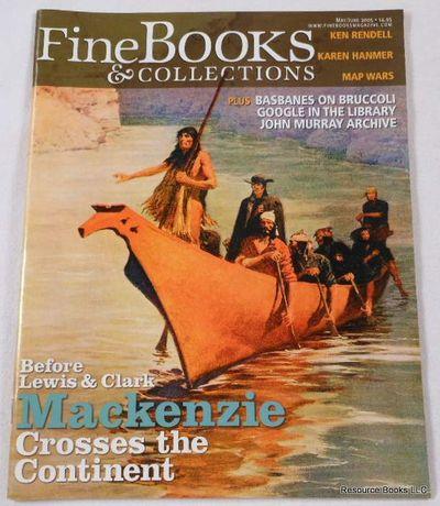 Fine Books & Collections.  May/June 2005.  No. 15 (Vol. 3, No. 3), Fine Books & Collections Magazine