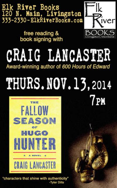 Craig Lancaster Poster, 13 November 2014, Lancaster, Craig