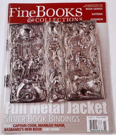Fine Books & Collections.  November/December 2005.  No. 18 (Vol. 3, No. 6), Fine Books & Collections Magazine