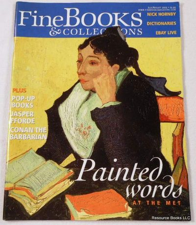 Fine Books & Collections.  July/August 2005.  No. 16 (Vol. 3, No. 4), Fine Books & Collections Magazine