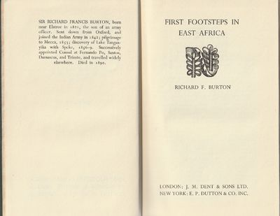 Image for First Footsteps in East Africa