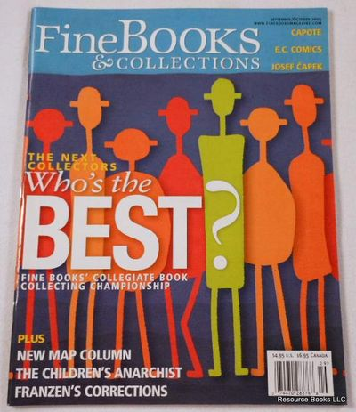 Fine Books & Collections.  September/October 2005.  No. 17 (Vol. 3, No. 5), Fine Books & Collections Magazine