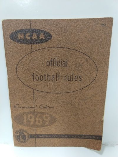 Image for NCAA Official Football Rules 1969