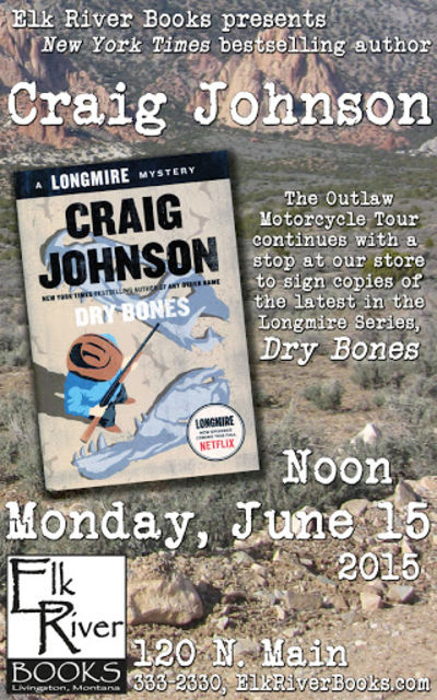 "Craig Johnson ""Dry Bones"" Poster, 15 June 2015, Johnson, Craig"