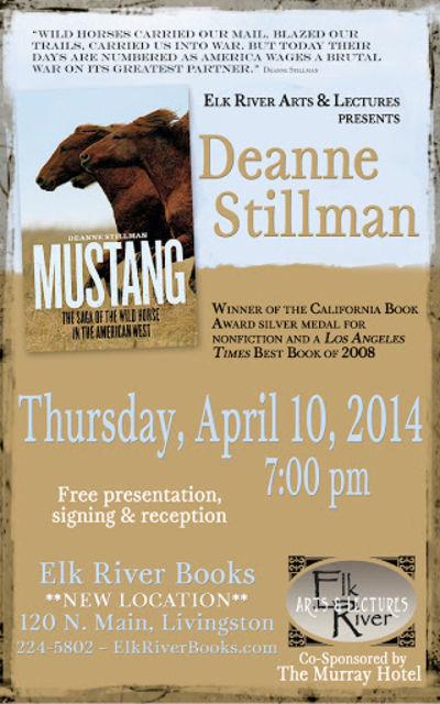 Deanne Stillman Poster, 10 April 2014, Stillman, Deanne
