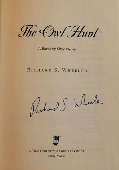 The Owl Hunt, Wheeler, Richard S.