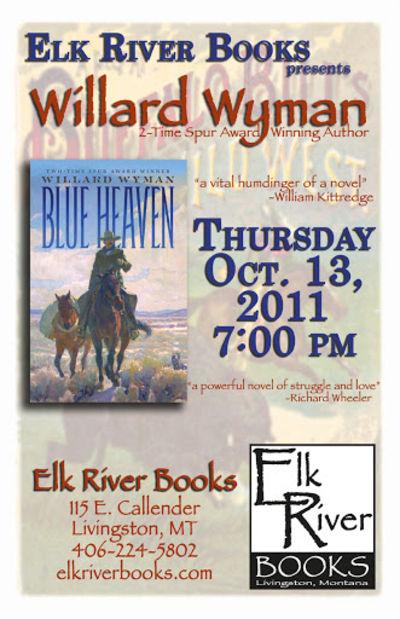 Willard Wyman Poster, 13 October 2011, Wyman, Willard
