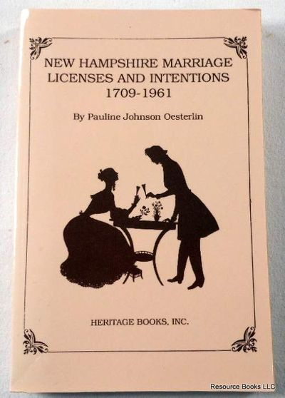 New Hampshire Marriage Licenses and Intentions, 1709-1961, Oesterlin, Pauline Johnson