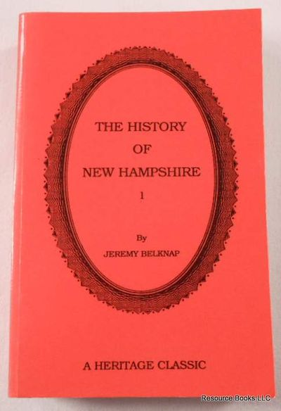 The History of New Hampshire. Volume I, Belknap, Jeremy