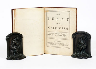 epigrams an essay on criticism