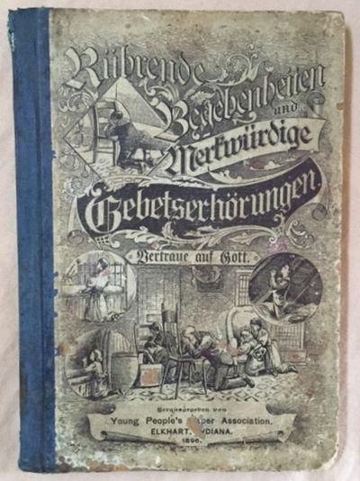 Rührende Begebenheiten und merkwürdige Gebetserhörungen, Shaw, S.B.