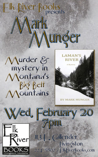 Mark Munger Poster, 20 February 2013, Munger, Mark
