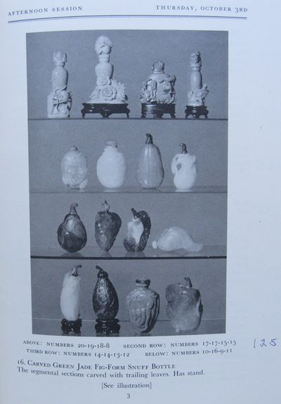Image for Chinese Art: Jades, Ceramics, Bronzes... from the Estate of Mrs.Fritz  Kreisler and from other sources including Siegfried Hearst.