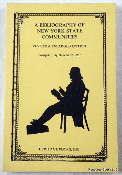 Bibliography of New York State Communities, Nestler, Harold