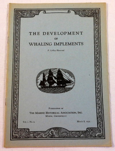 The Development of Whaling Instruments, Harwood, P. LeRoy