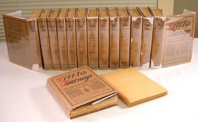 Little Journeys. Memorial Edition. 14 Volumes in Leather with Dustjackets, Plus Guide, Hubbard, Elbert