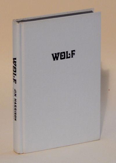 Wolf: A False Memoir, Harrison, Jim