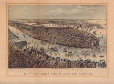 Image for City of New York and Environs.