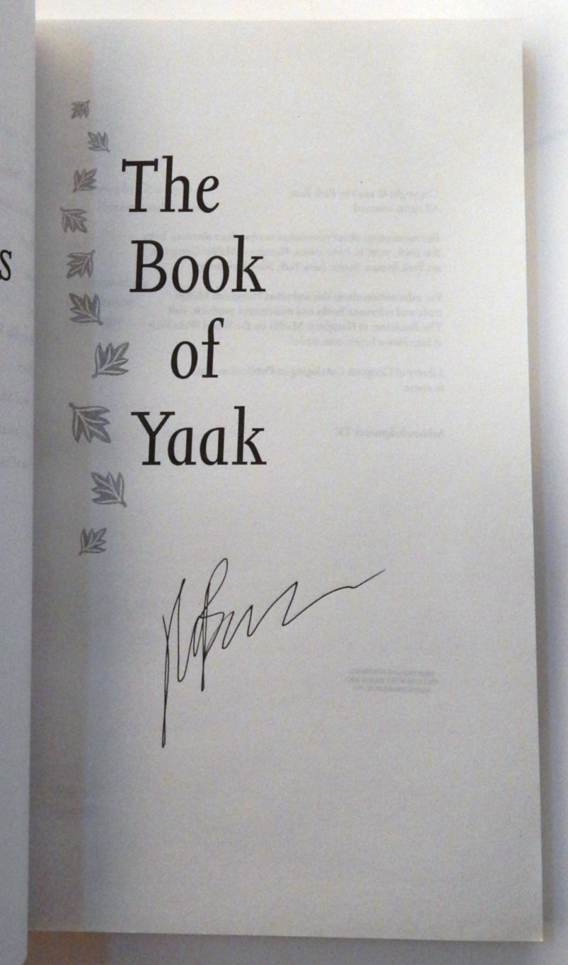 Image for The Book of Yaak