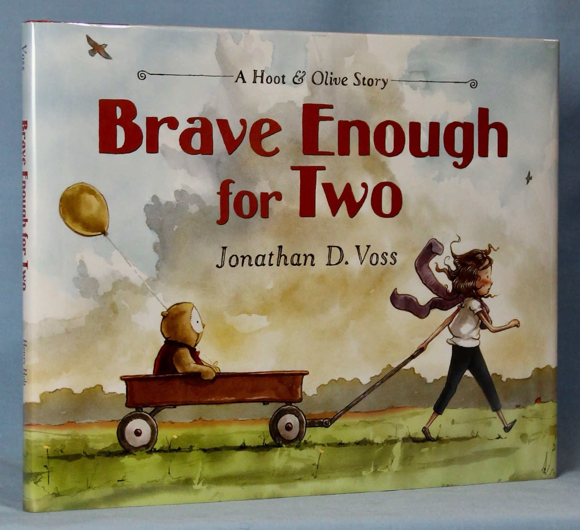 Image for Brave Enough for Two: A Hoot & Olive Story (Signed)