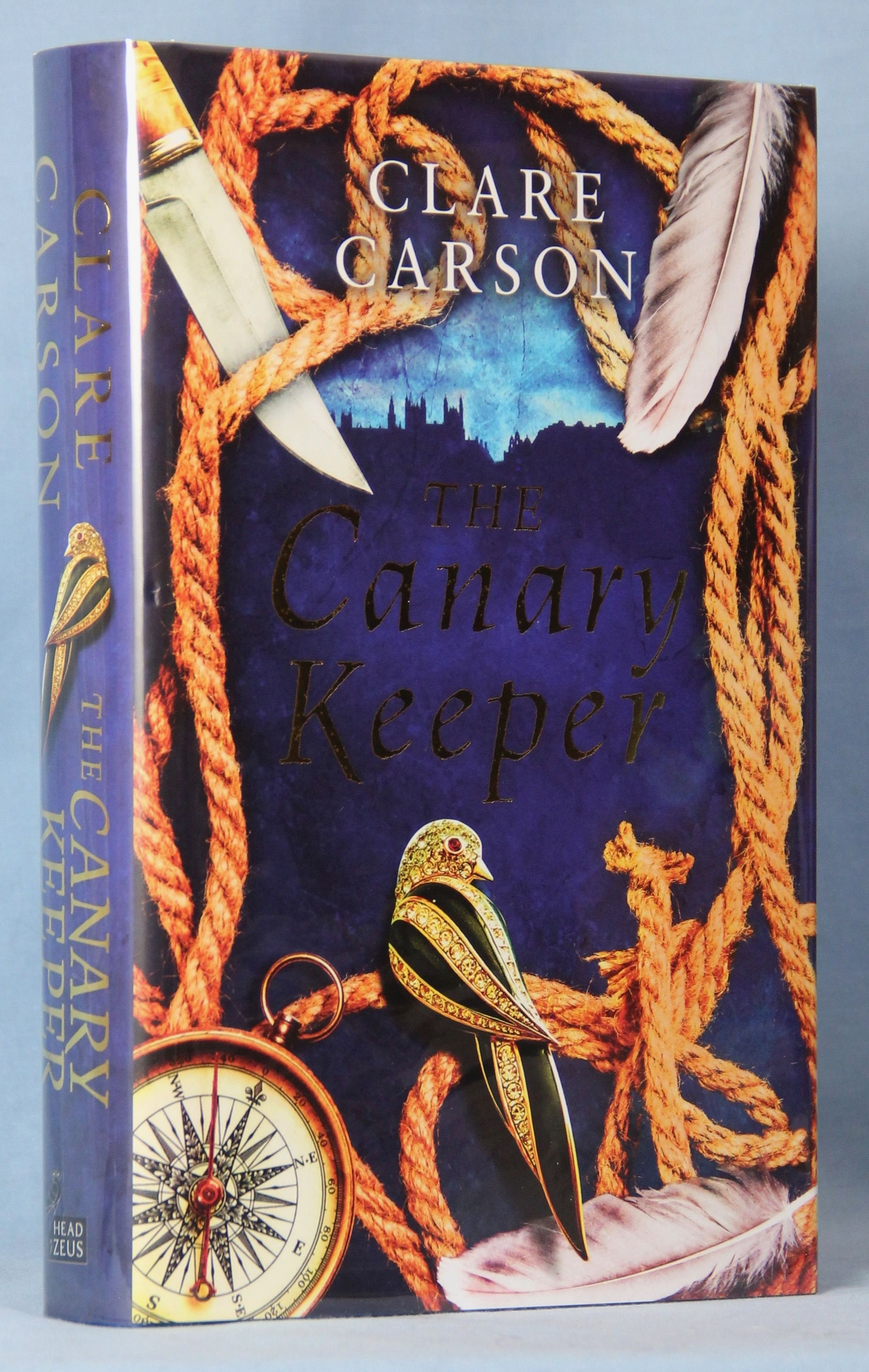 Image for The Canary Keeper (Signed, Dated, Lined)