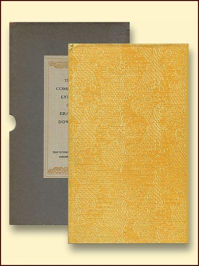 The Complete Lyrics of Ernest Dowson, Dowson, Ernest