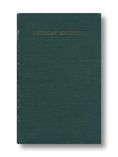 American Excursion (Douglas Fairbanks' bookplate), Morpurgo, J.E.
