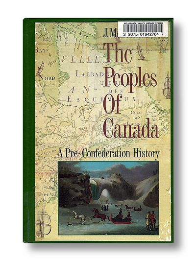 The Peoples of Canada, a Comprehensive History Hardcover Edition, Bumsted, J. M.