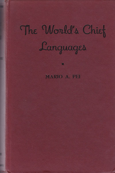 Image for THE WORLD'S CHIEF LANGUAGES.