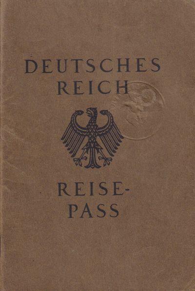 Image for Deutsches Reich Reisepass