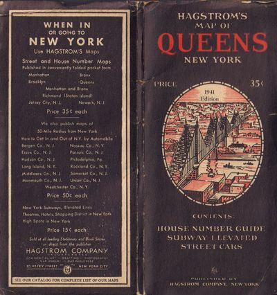 Image for Hagstrom's Map of Queens New York, 1941 Edition
