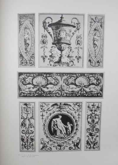 Image for Eighteenth Century Architectural Ornamentation; furniture and decoration;  by M. A. Pergolesi, and other eminent artists.