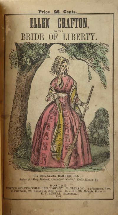 Image for Ellen Grafton, The Lily of Lexington; or the Bride of Liberty.   A Romance  of the Revolution