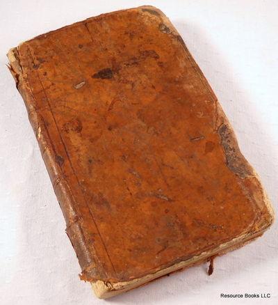 Course De Mathematiques, a L'usage Des Gardes Du Pavillon et De La Marine.  Premiere Partie Elements d'Arithmetique, Bezout, Etienne (1730-1783)