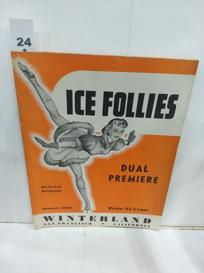 """Image for Official Program """"Ice Follies of 1939"""" and Winterland"""