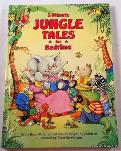 5-Minute Jungle Tales for Bedtime, Adlington, Carolyn;Bald, Catherine;Kremer, David;Rose, Gale