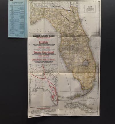 Image for Southern Railway System. The Way to Florida... Royal Palm... Ponce De Leon... Suwanee River Special... Ohio Special... Kansas City - Florida