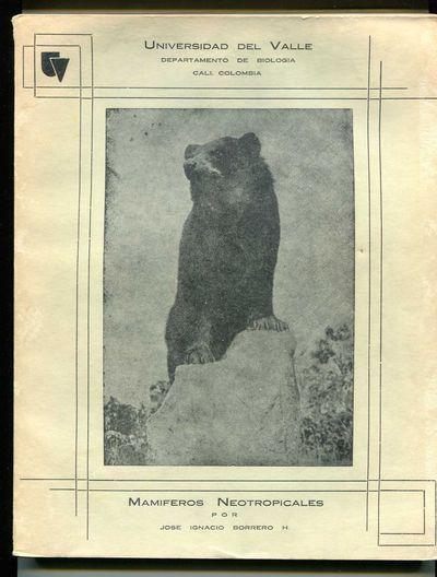 Mamiferos Neotropicales, Borrero H., Jose Ignacio