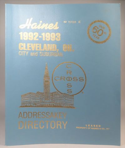 Image for Haines 1992-1993 Cleveland, OH City and Suburban Addressakey Directory