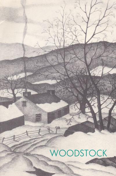 WOODSTOCK: Fifty Years of Printmaking. February 3  - 28, 1987., (Cramer, Konrad; Fortess, Karl; Greenwood, Marion; et al). Teller, Susan.