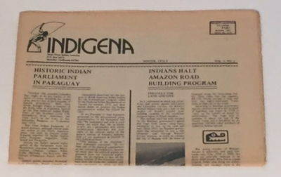 Indigena: News From Indian America (Winter 1974-5, Vol. 1, No. 3), Indigena