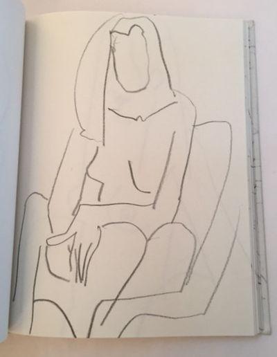 Sketchbook,' 93-'94, Butts, Freeman