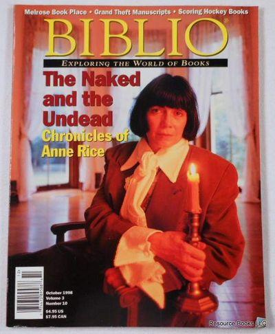 Biblio Magazine - October 1998.  Volume 3, Number 10, Biblio Magazine
