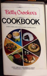 image of Betty Crocker's Cookbook : Over 1600 of the World's Most Thoroughly Tested Reicpes [ Pie Collage Cover, 1969 Reprint Edition ]