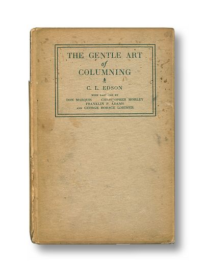 The Gentle Art of Columning, Edson, C.L.